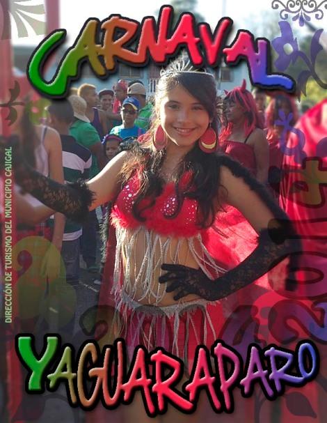 CARNAVAL YAGUARAPARO 2014