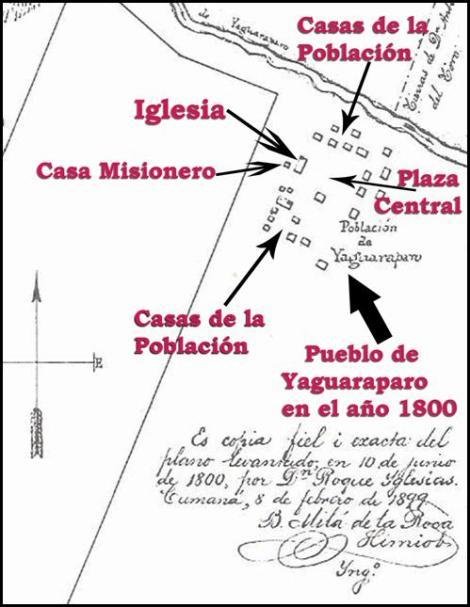 MAPA YAGUARAPARO ANTIGUO