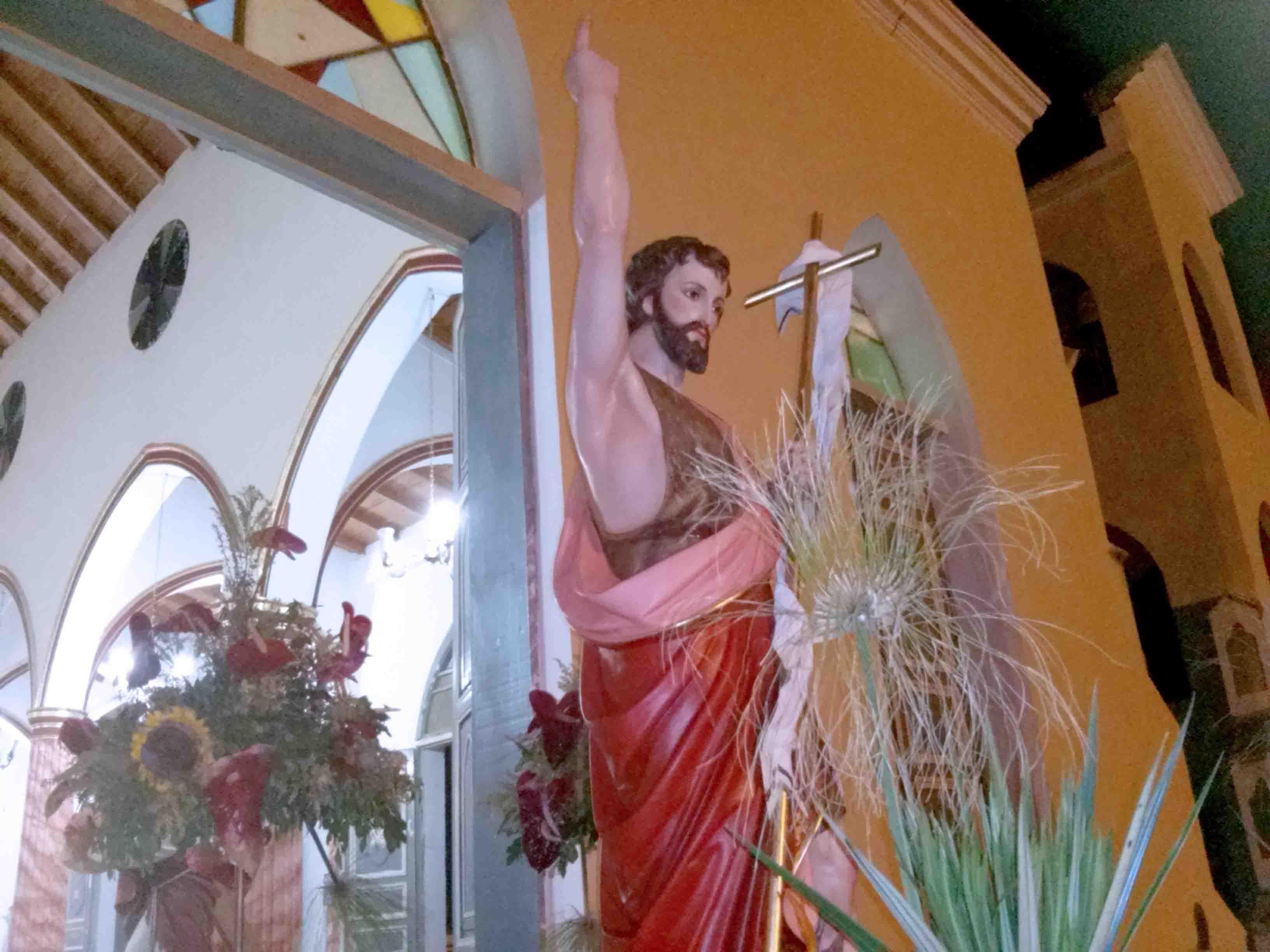 CELEBRADA EN YAGUARAPARO FESTIVIDAD EN HONOR A SAN JUAN BAUTISTA